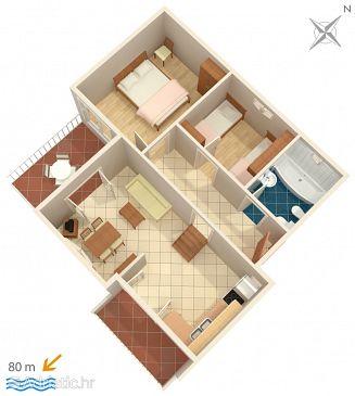 Apartment A-652-a - Apartments Pisak (Omiš) - 652