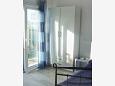 Pisak, Bedroom u smještaju tipa studio-apartment, dostupna klima i WIFI.