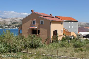Property Pag (Pag) - Accommodation 6526 - Apartments near sea with pebble beach.