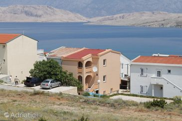 Property Pag (Pag) - Accommodation 6542 - Apartments with sandy beach.