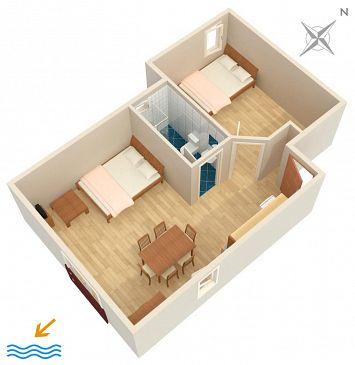 Apartament A-6557-b - Apartamenty Jadranovo (Crikvenica) - 6557