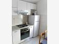 Mimice, Kitchen u smještaju tipa studio-apartment, WIFI.