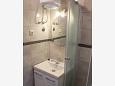Mimice, Bathroom u smještaju tipa studio-apartment, WIFI.