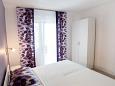 Starigrad, Bedroom 1 u smještaju tipa apartment, dopusteni kucni ljubimci i WIFI.