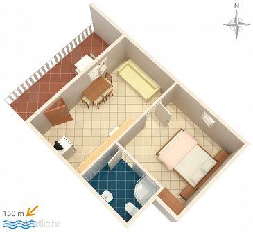 Apartment A-6586-a - Apartments Starigrad (Paklenica) - 6586