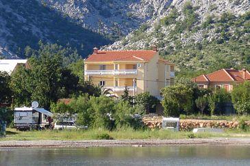 Starigrad, Paklenica, Property 6608 - Apartments blizu mora with pebble beach.