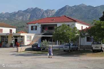 Property Seline (Paklenica) - Accommodation 6628 - Apartments with pebble beach.