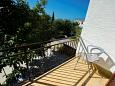 Balcony - Room S-6634-a - Apartments and Rooms Starigrad (Paklenica) - 6634
