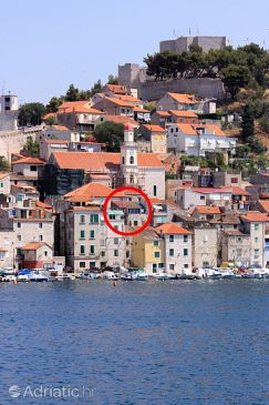 Property Šibenik (Šibenik) - Accommodation 6635 - Vacation Rentals near sea with pebble beach.