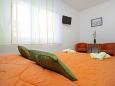 Bedroom - Studio flat AS-6643-a - Apartments and Rooms Makarska (Makarska) - 6643