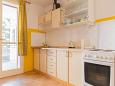 Kitchen - Apartment A-6646-a - Apartments Podgora (Makarska) - 6646