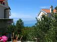 Tučepi, Balcony - view u smještaju tipa apartment, dopusteni kucni ljubimci i WIFI.