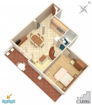 Apartment A-6658-a - Apartments Drvenik Donja vala (Makarska) - 6658