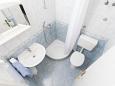 Podgora, Bathroom 1 u smještaju tipa apartment, WIFI.