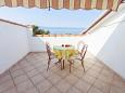 Terrace - Studio flat AS-6671-a - Apartments and Rooms Podgora (Makarska) - 6671