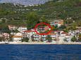 Property Podgora (Makarska) - Accommodation 6673 - Apartments near sea with pebble beach.