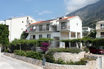 Property Živogošće - Blato (Makarska) - Accommodation 6698 - Apartments and Rooms with pebble beach.