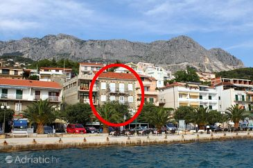Podgora, Makarska, Property 6709 - Apartments blizu mora with pebble beach.