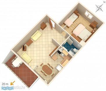 Apartment A-6713-a - Apartments Podgora (Makarska) - 6713