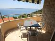 Terrace - Apartment A-6718-d - Apartments Baška Voda (Makarska) - 6718