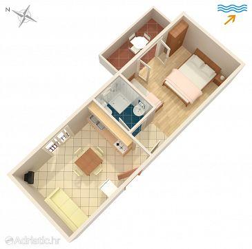 Apartment A-6736-b - Apartments Podaca (Makarska) - 6736