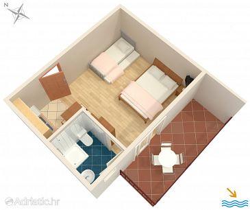 Studio flat AS-6736-b - Apartments Podaca (Makarska) - 6736