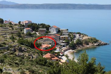 Property Drašnice (Makarska) - Accommodation 6754 - Apartments near sea with pebble beach.