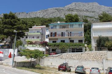 Property Baška Voda (Makarska) - Accommodation 6761 - Apartments with pebble beach.
