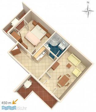 Apartment A-6763-e - Apartments Baška Voda (Makarska) - 6763