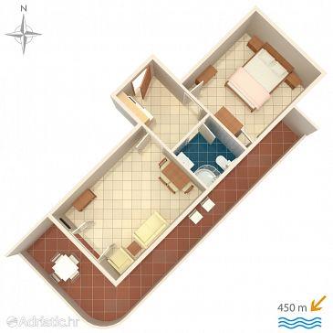 Apartment A-6763-f - Apartments Baška Voda (Makarska) - 6763