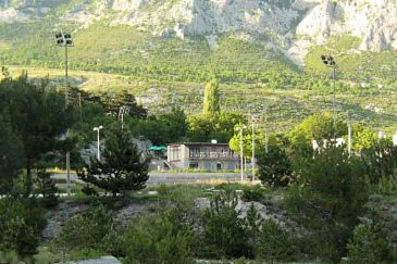 Property Gata (Omiš) - Accommodation 6771 - Apartments with sandy beach.