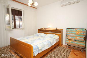 Makarska, Bedroom u smještaju tipa room, dostupna klima i WIFI.
