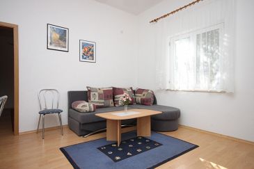 Gradac, Living room u smještaju tipa apartment, dopusteni kucni ljubimci i WIFI.