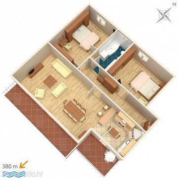 Apartment A-6784-a - Apartments Makarska (Makarska) - 6784