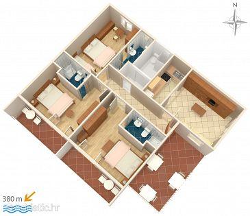 Apartment A-6784-c - Apartments Makarska (Makarska) - 6784