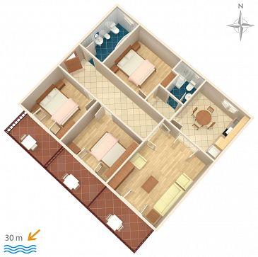 Apartment A-6789-a - Apartments Podgora (Makarska) - 6789