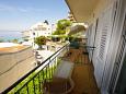 Balcony 1 - Apartment A-6789-a - Apartments Podgora (Makarska) - 6789