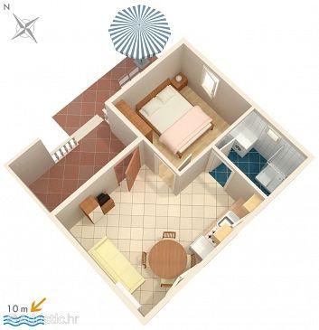 Apartment A-680-b - Apartments Bibinje (Zadar) - 680