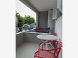 Balcony 1 - Apartment A-6814-a - Apartments Makarska (Makarska) - 6814