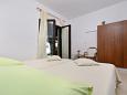 Gornji Tučepi - Podpeć, Bedroom 1 u smještaju tipa house, dopusteni kucni ljubimci i WIFI.