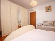 Bedroom - Studio flat AS-6827-d - Apartments Baška Voda (Makarska) - 6827