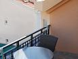 Terrace - Studio flat AS-6834-c - Apartments and Rooms Makarska (Makarska) - 6834