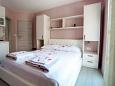 Bedroom - Studio flat AS-6849-b - Apartments Promajna (Makarska) - 6849
