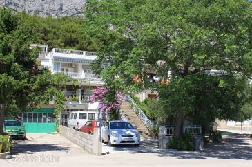 Property Tučepi (Makarska) - Accommodation 6857 - Apartments with pebble beach.