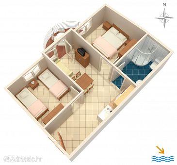 Apartment A-6863-b - Apartments Rastići (Čiovo) - 6863