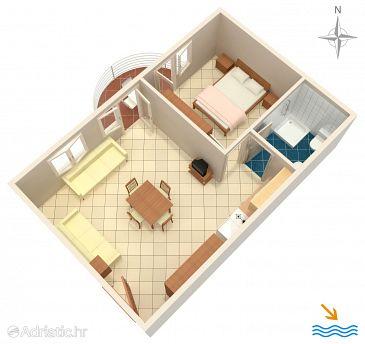 Apartment A-6863-d - Apartments Rastići (Čiovo) - 6863