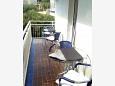 Balcony - Studio flat AS-6881-d - Apartments Gradac (Makarska) - 6881