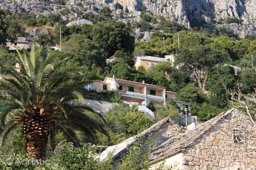 Property Brela (Makarska) - Accommodation 6884 - Apartments with pebble beach.