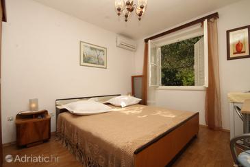 Tučepi, Bedroom u smještaju tipa room, dostupna klima, dopusteni kucni ljubimci i WIFI.