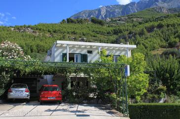 Property Tučepi (Makarska) - Accommodation 6901 - Apartments and Rooms with pebble beach.